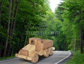игрушка грузовик бортовой