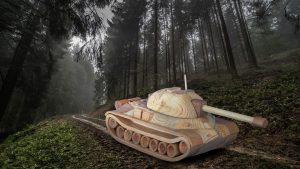 Игрушка танк ИС-7