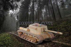 игрушка самоходная установка СУ-100