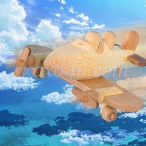 игрушка самолетик с пилотами