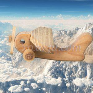 игрушка самолетик с пропеллером