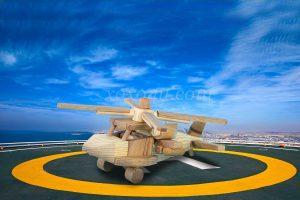 Игрушка военный вертолет