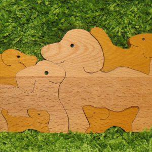 деревянные игрушки пазлы