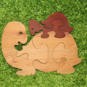 деревянные игрушки пазлы черепашка