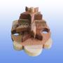 Деревянная пирамидка Черепашки 6