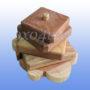 Деревянная пирамидка Черепашки 9