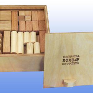 деревянный конструктор малый 3