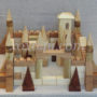 деревянный конструктор крепость