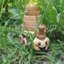 Игрушка каталка-пирамидка Черепашка