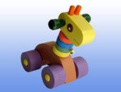 Каталка игрушка Жираф