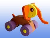Каталка игрушка Слоненок
