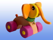 Игрушка каталка Слоненок