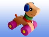 Каталка игрушка Собачка