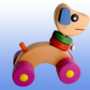 Каталка игрушка Собачка2