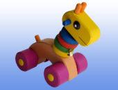 Игрушка каталка Жираф