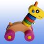 игрушка жирафик баклажановые колеса 2