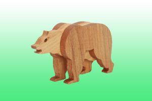 бурый медведь фигурка