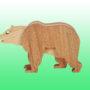Фигурка бурый медведь2