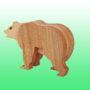 фигурка бурый медведь