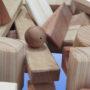 фактура дерева геометрического конструктора большого