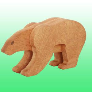 белый медведь фигурка